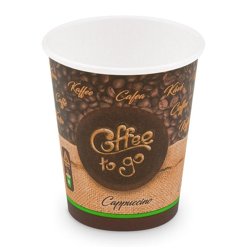 Papierový pohár na kávu so sebou 280ml